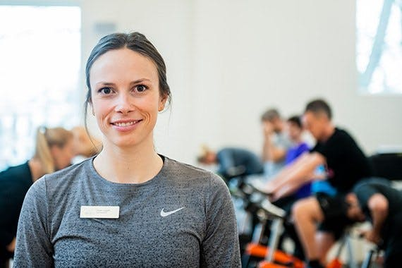 Fysioterapeut Sarah Leggett