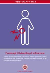 Faglig status: Fysioterapi til behandlingen af hofteartrose