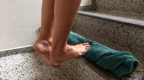 Øvelse mod hælspore